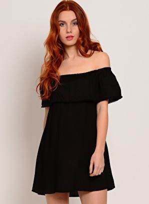 Motel Rocks Elbise Kadın – Trend – X – Dokuma – Elbise